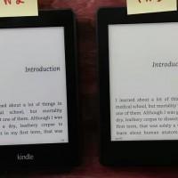 Kindle Paperwhite 3 vs 2