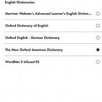 Kindle Dictionaries
