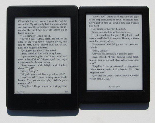 Kindle Vs Sony Reader: Kindle Paperwhite 3 Vs Kobo Glo HD Comparison Review