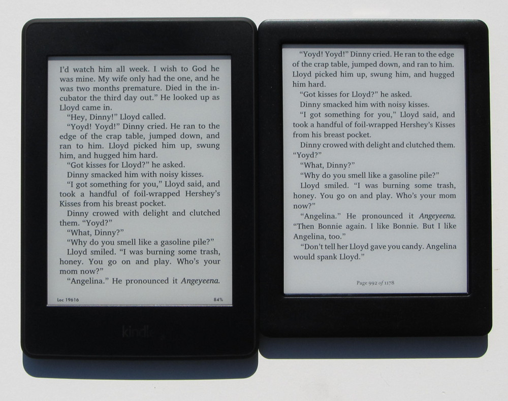 Kindle Paperwhite 3 Vs Kobo Glo Hd Comparison Review Video The Ebook Reader Blog