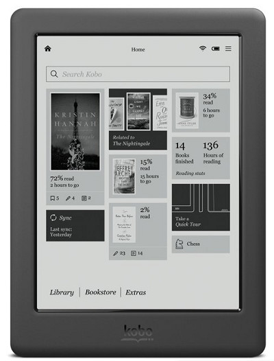 kobo touch 2 0 review and video demo the ebook reader blog rh blog the ebook reader com Kobo Touch 2.0 Kobo Glow