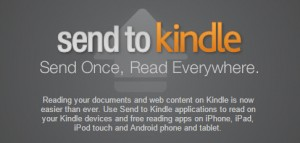 Send to Kindle Apps