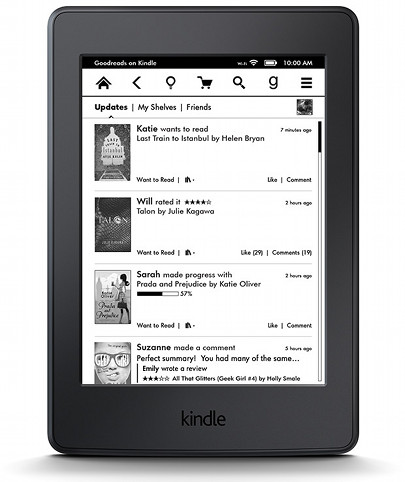 book format for kindle
