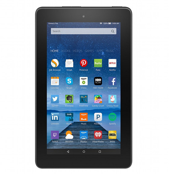 new 49 kindle fire tablet with expandable memory announced the