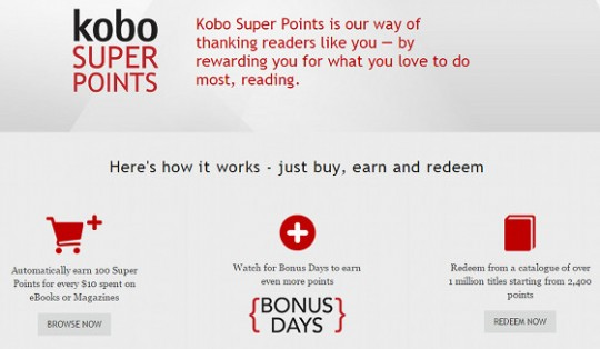 Kobo Super Points