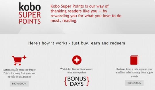 Kobo Super Points