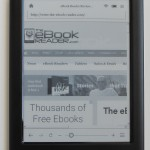 Kobo Touch 2 Browser