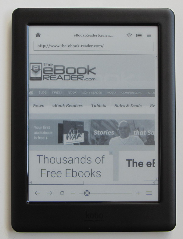 Kobo Touch 2 0 Review And Video Demo The Ebook Reader Blog