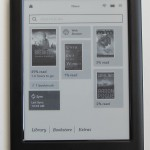 Kobo Touch 2 Home