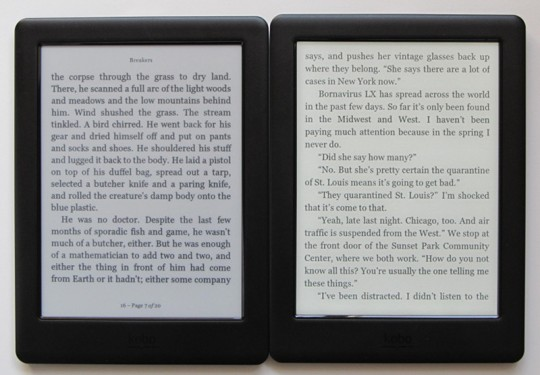 Kindle Vs Sony Reader: 8″ Cybook Ocean EReader Specs And Videos