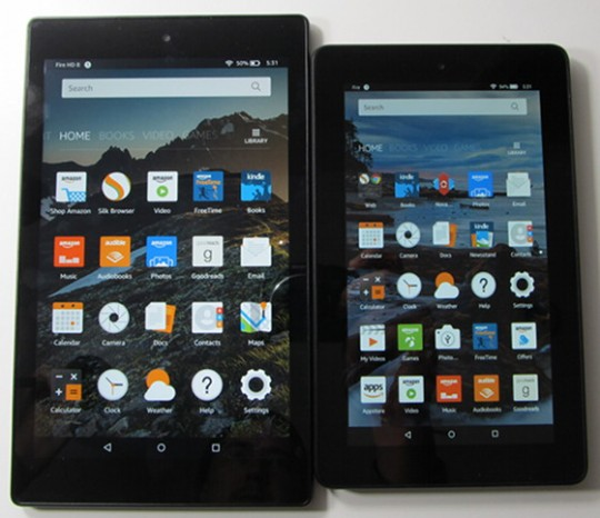 Fire Tablet vs Fire HD 8