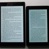 Fire Tablet vs Fire HD 8 Text