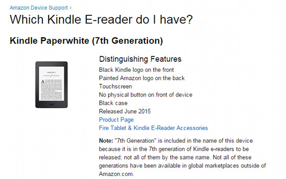 List of all Kindle Models and How to Tell Them Apart | The