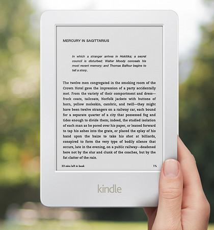 White Kindle