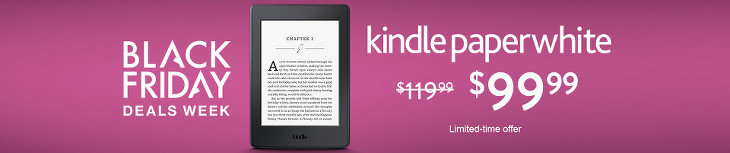 Kindle Paperwhite at Amazon