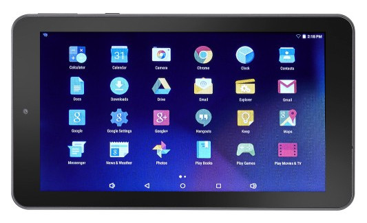 Mjs 7 Android 5 1 Tablet For 35 At Best Buy The Ebook Reader Blog