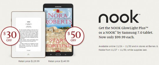 Nook Sale Black Friday