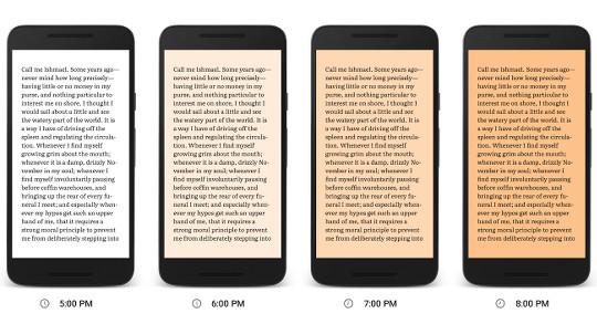 Night Light: Google Adds New Blue Light Filter to Play Books App