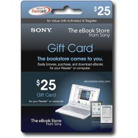 Sony eBook Gift Cards