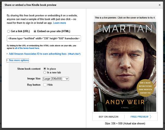 Kindle Instant Previews