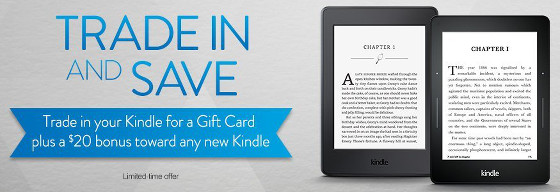 Kindle Trade In Promo