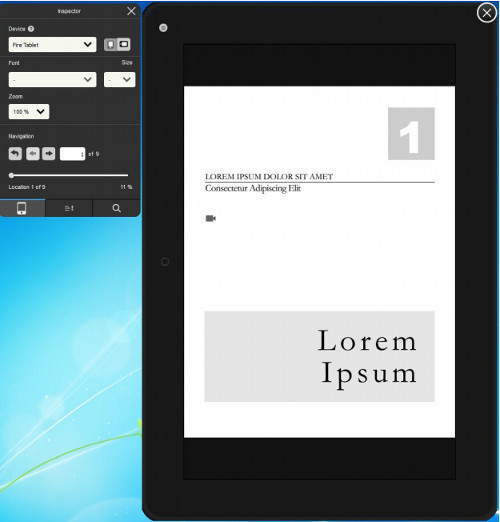Kindle Previewer 3 Lets You Convert and Preview eBooks with