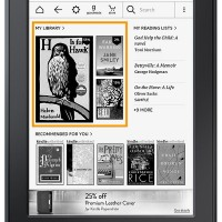 New Kindle Homescreen