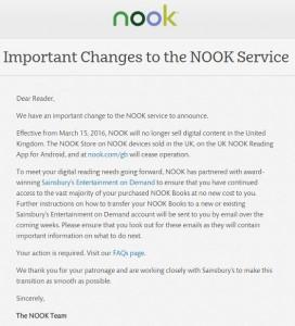 Nook Closing