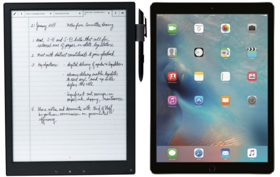 iPad Pro vs E Ink