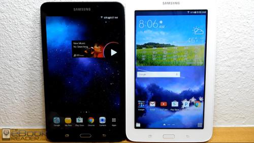 Galaxy Tab A vs Galaxy Tab E lite