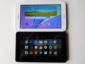 Galaxy Tab E Lite vs Fire Tablet