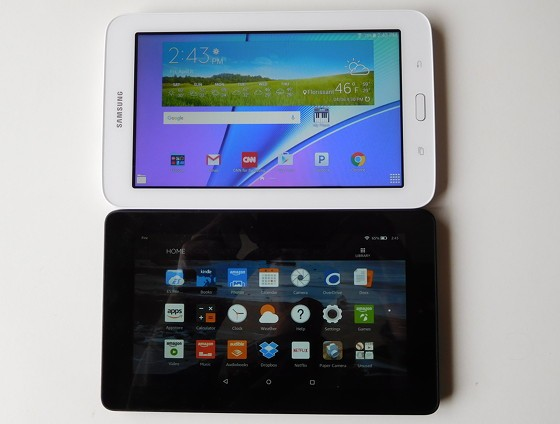 Fire Tablet Vs Samsung Galaxy Tab E Lite Comparison Review