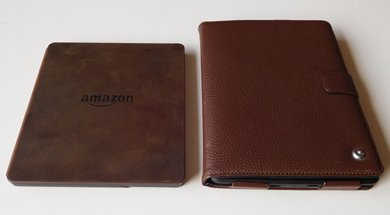 Kindle Oasis vs Kindle Paperwhite Cover
