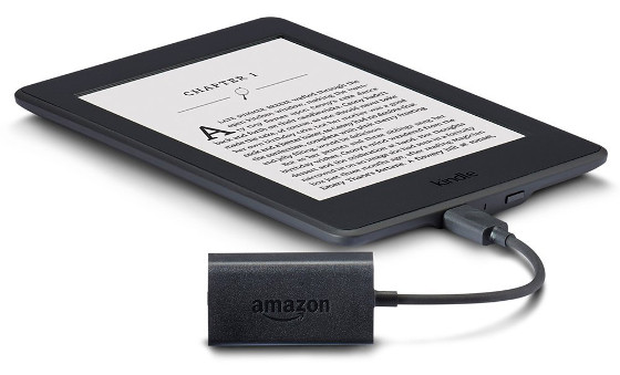 Kindle Audio Adapter Review, Text to Speech and VoiceView