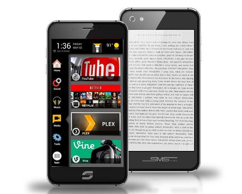 Siam 7X Dual Screen Phone