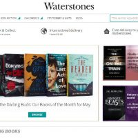 Waterstones eBook Close