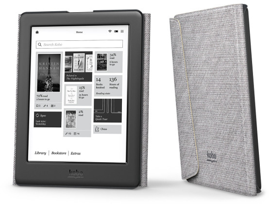 Kobo Glo HD Deal, Comes with Free Sleep Cover | The eBook