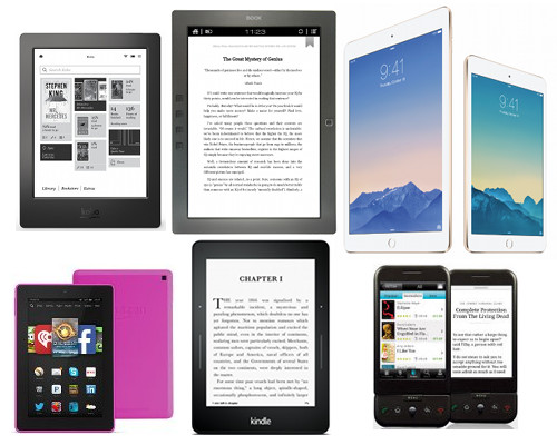 Tablets vs eBook Readers