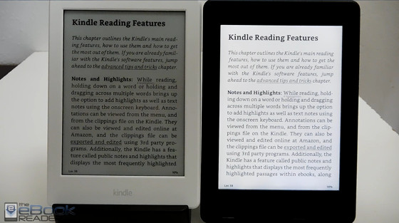 Kindle Paperwhite 3 Vs 2016 Kindle Comparison Review Video The Ebook Reader Blog