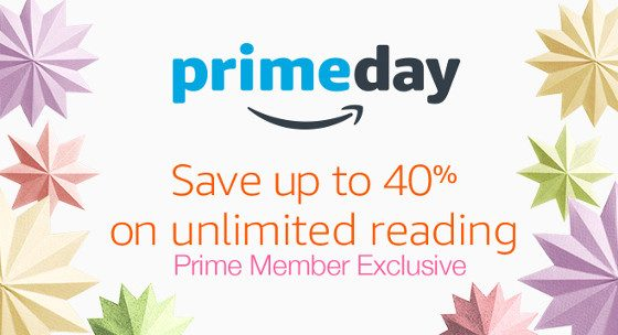 Kindle Unlimited Prime Day Sale