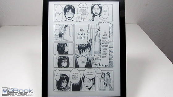 kobo-aura-one-comics-manga