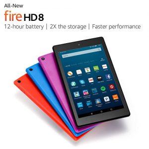 new Fire HD 8