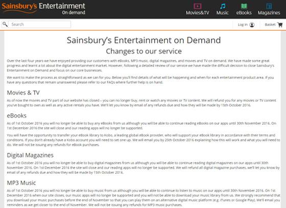 sainsbury-ebook-store-closing