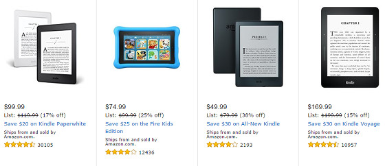 Black Friday Kindle Sales Begin Now Plus Up To 80 Off Kindle Books The Ebook Reader Blog