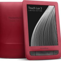 Ruby Red Pocketbook Touch Lux 3