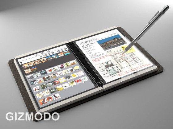 A Microsoft eReader and Notebook Could Be Great, an E Ink ...