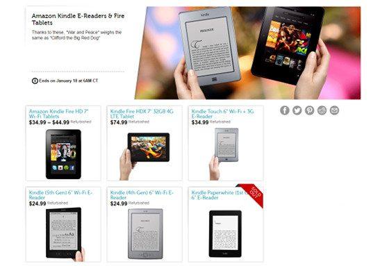 Woot Kindle Deals