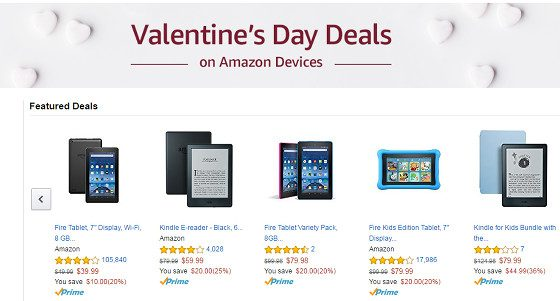 Kindle Deals Valentines