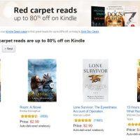 Kindle Red Carpet Sale