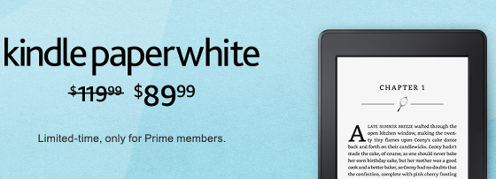 Kindle Paperwhite Sale